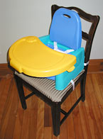 booster seat and tray