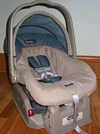 rear-facing car seat